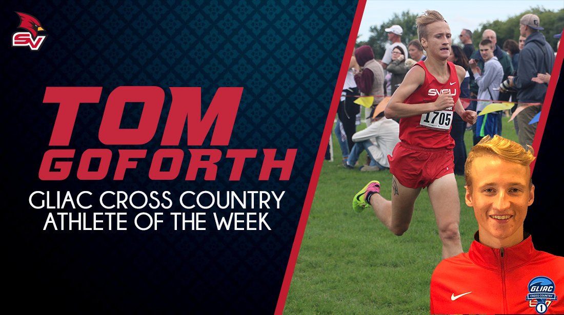 Goforth Earns GLIAC Runner of the Week Accolades