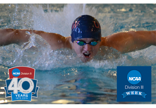 "Swimmer Nate Hartt Featured in Thursday's ""Why UMW?"" Feature for DIII Week"