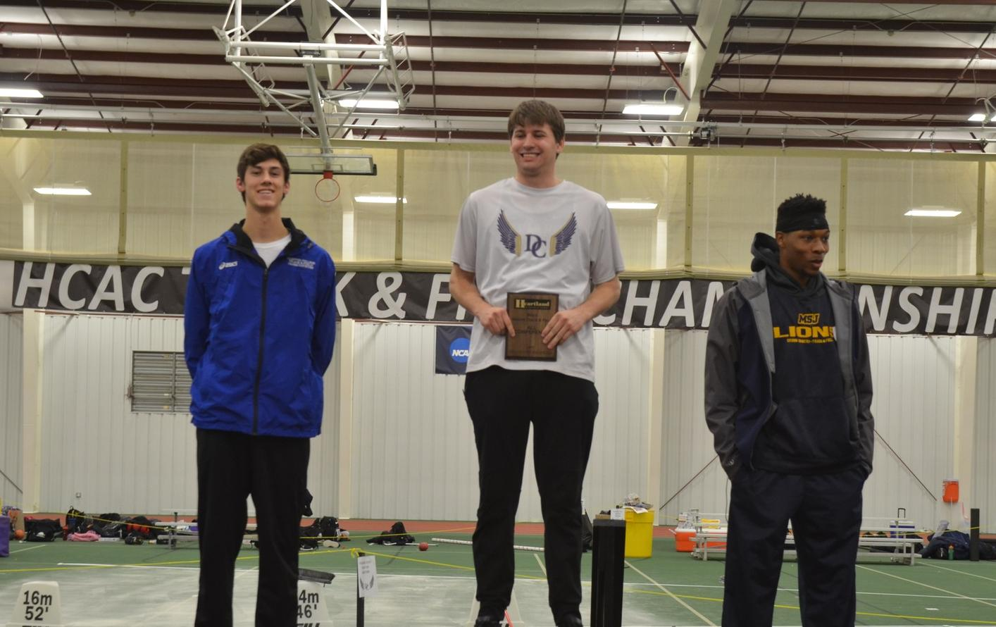 Jackson Leads DC at the HCAC Indoor Championships