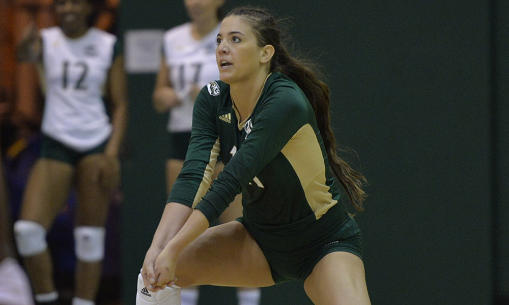 VOLLEYBALL FALLS IN FOUR SETS TO ARIZONA