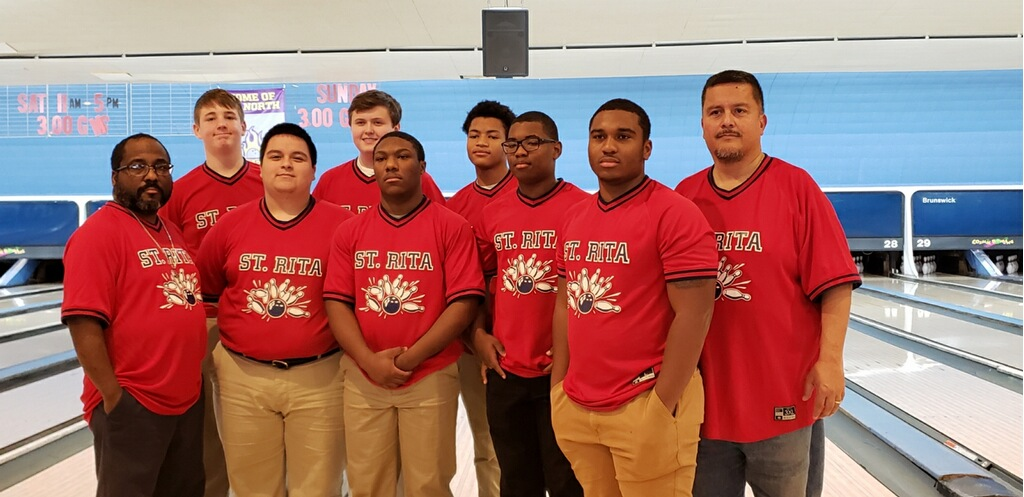 St. Rita Bowling Team took 3rd place in the State Regional Championship! Congratulations advancing to Sectionals!