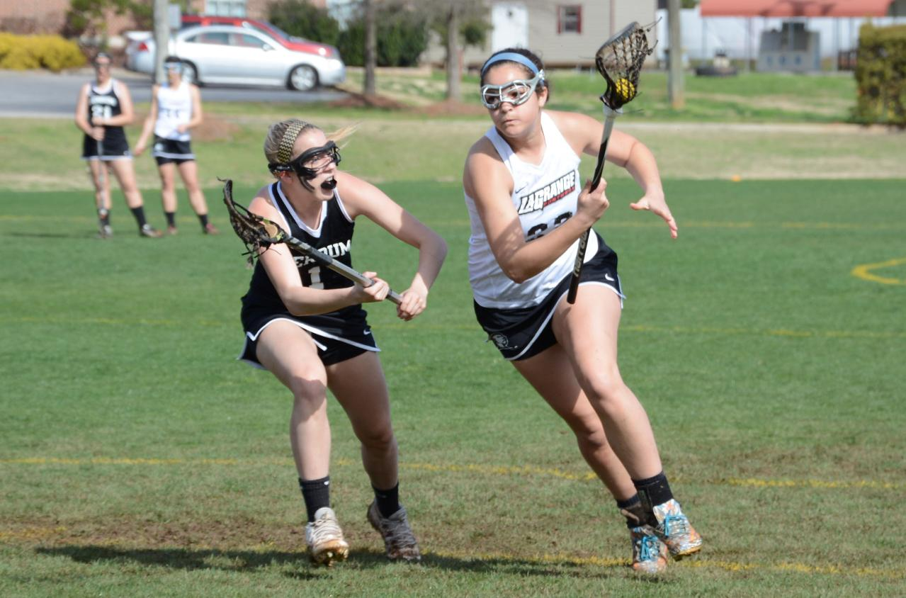 Alexis Dillard had six goals in leading the Panthers to a season-ending 13-10 win at Oglethorpe on Monday. Dillard led the team for the season with 31 goals.