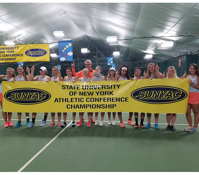 New Paltz wins 2018 SUNYAC women's tennis championship