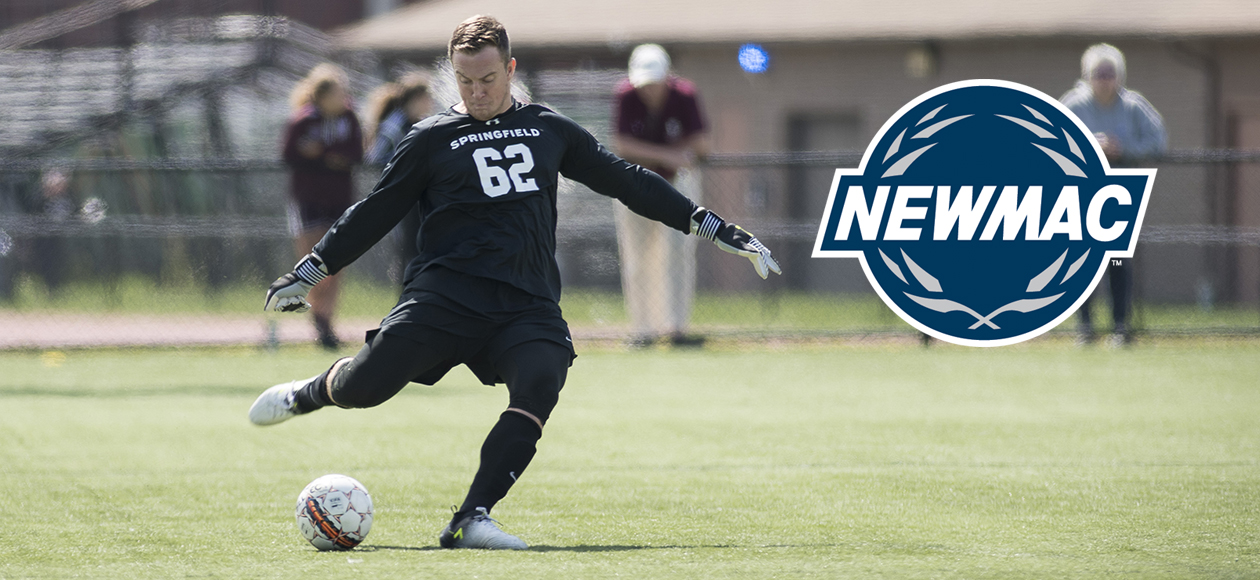Frank Earns Second NEWMAC Men's Soccer Defensive Athlete of the Week Honor