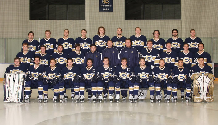 Men's Hockey Announces 2012-13 Team Award Winners