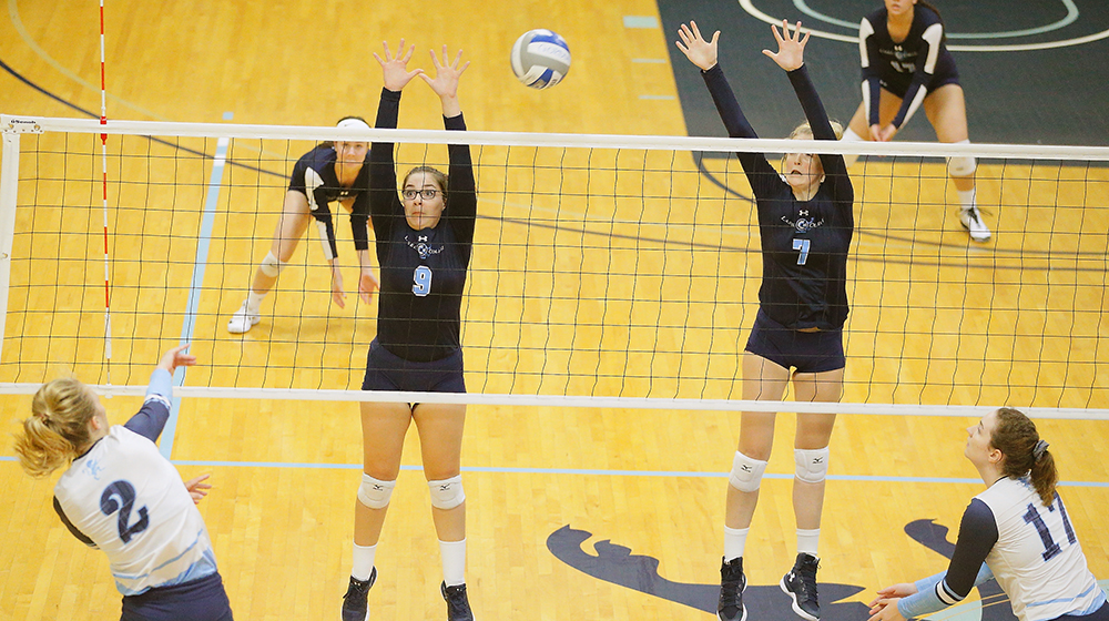 Lasell Women's Volleyball drops matches to undefeated teams