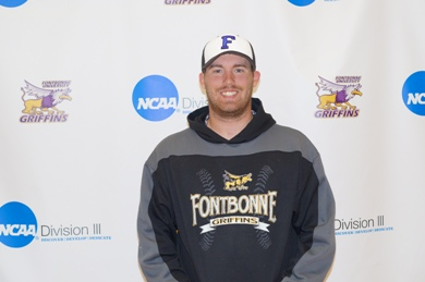 Schlereth Throws Second No-Hitter in Fontbonne Baseball History