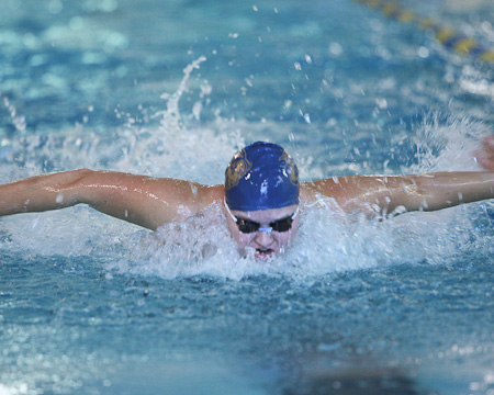 Alexandra Polivanchuk selected as NEAC Women's Swimming Student-Athlete of the Week