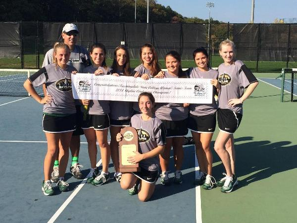 Rams Claim Second Straight Women's Tennis Championship