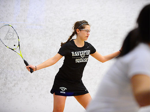 Women's squash upends Smith, 8-1, at CSA team championships