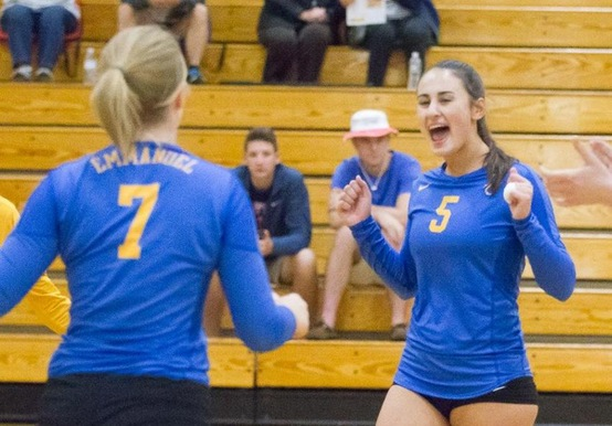 WOMEN'S VOLLEYBALL OPENS GNAC PLAY WITH WIN; FALLS TO USM