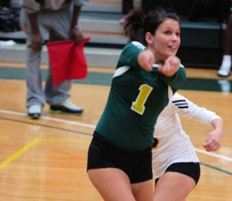 Volleyball Succumbs To Caldwell In Three