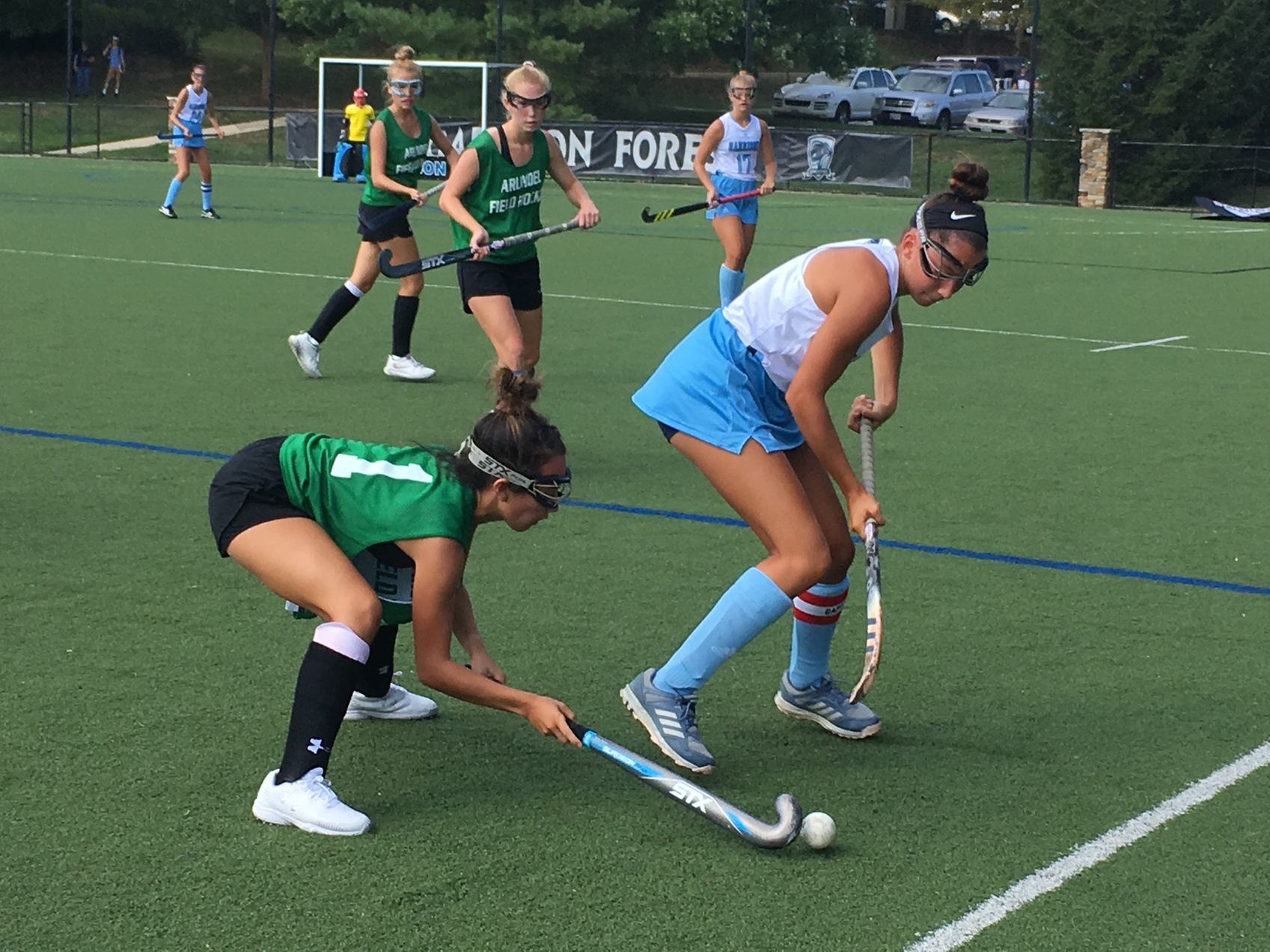 Garrison Forest rallies past Arundel in early-season field hockey showdown