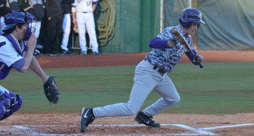 Bisons use big inning to down Golden Eagles, 12-1