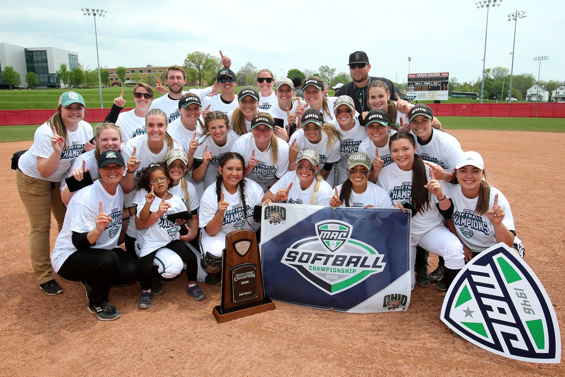 MISSION ACCOMPLISHED: Ohio Softball Clinches MAC Title and Trip to NCAA Tournament