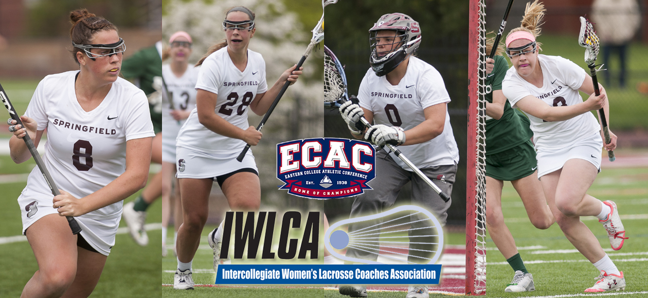 Four Members of Women's Lacrosse Garner All-Region Honors