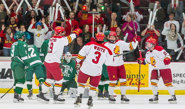 Top-Seeded Ferris State Posts Most Decisive Postseason Victory Ever In Game One Win