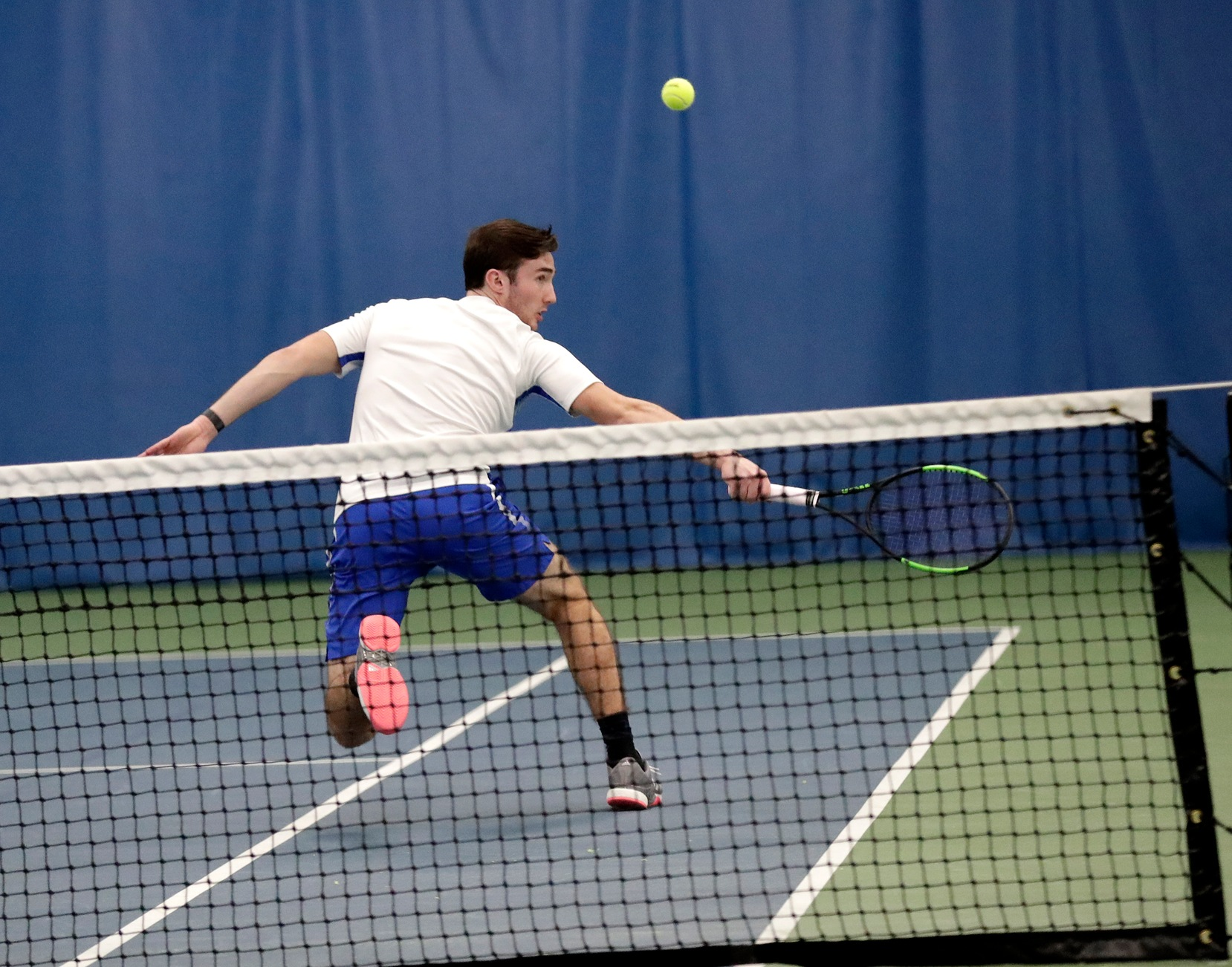 Men's Tennis Falls 8-1 to Cumberlands on Final Home Game of the Season