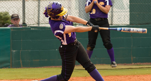 Golden Eagles keep playoff hopes alive: Softball splits OVC doubleheader