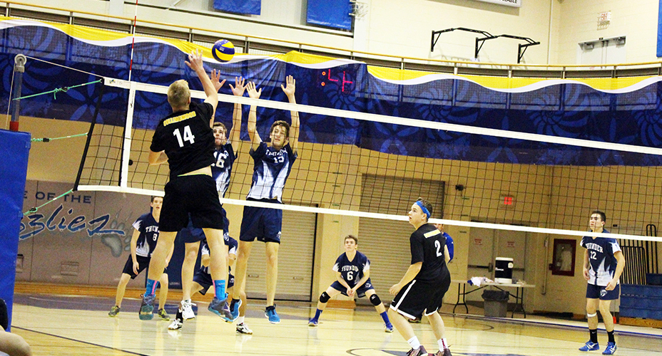 high school boys volleyball