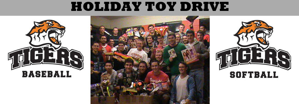 OXY BASEBALL, SOFTBALL COME TOGETHER FOR TOY DRIVE