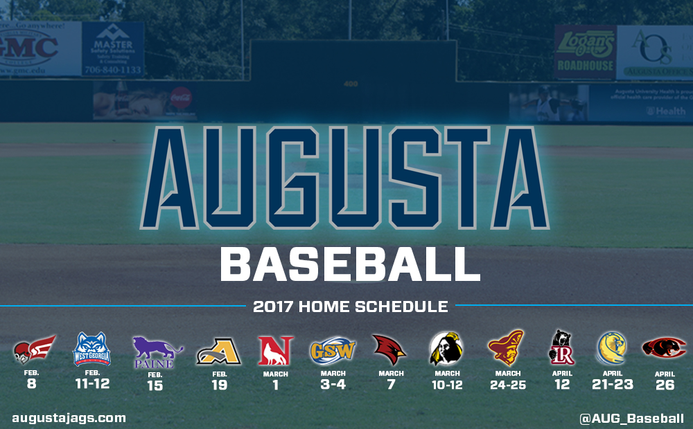 Augusta University Announces Updated 2017 Baseball Schedule
