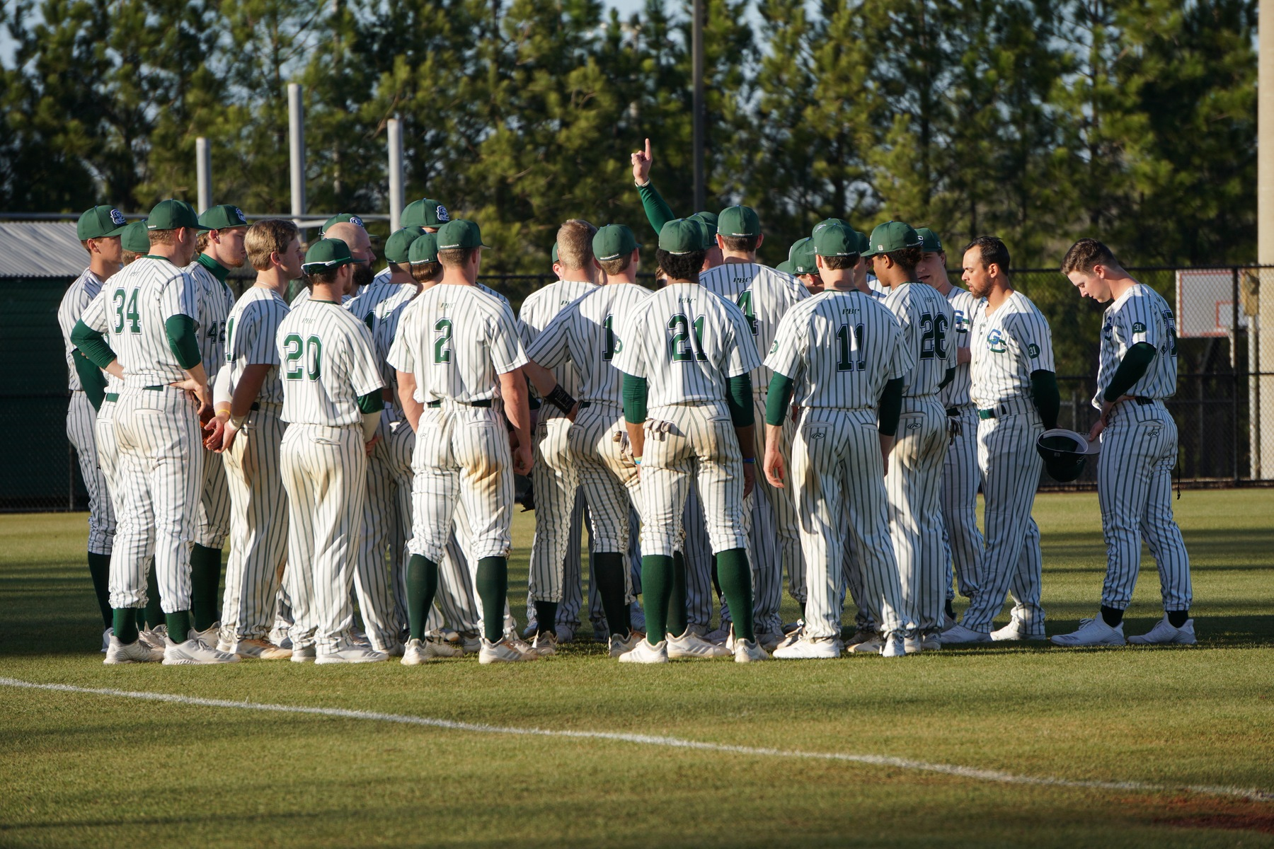 GC Baseball Downed Twice in Saturday Doubleheader versus Flagler, 7-1 and 6-2