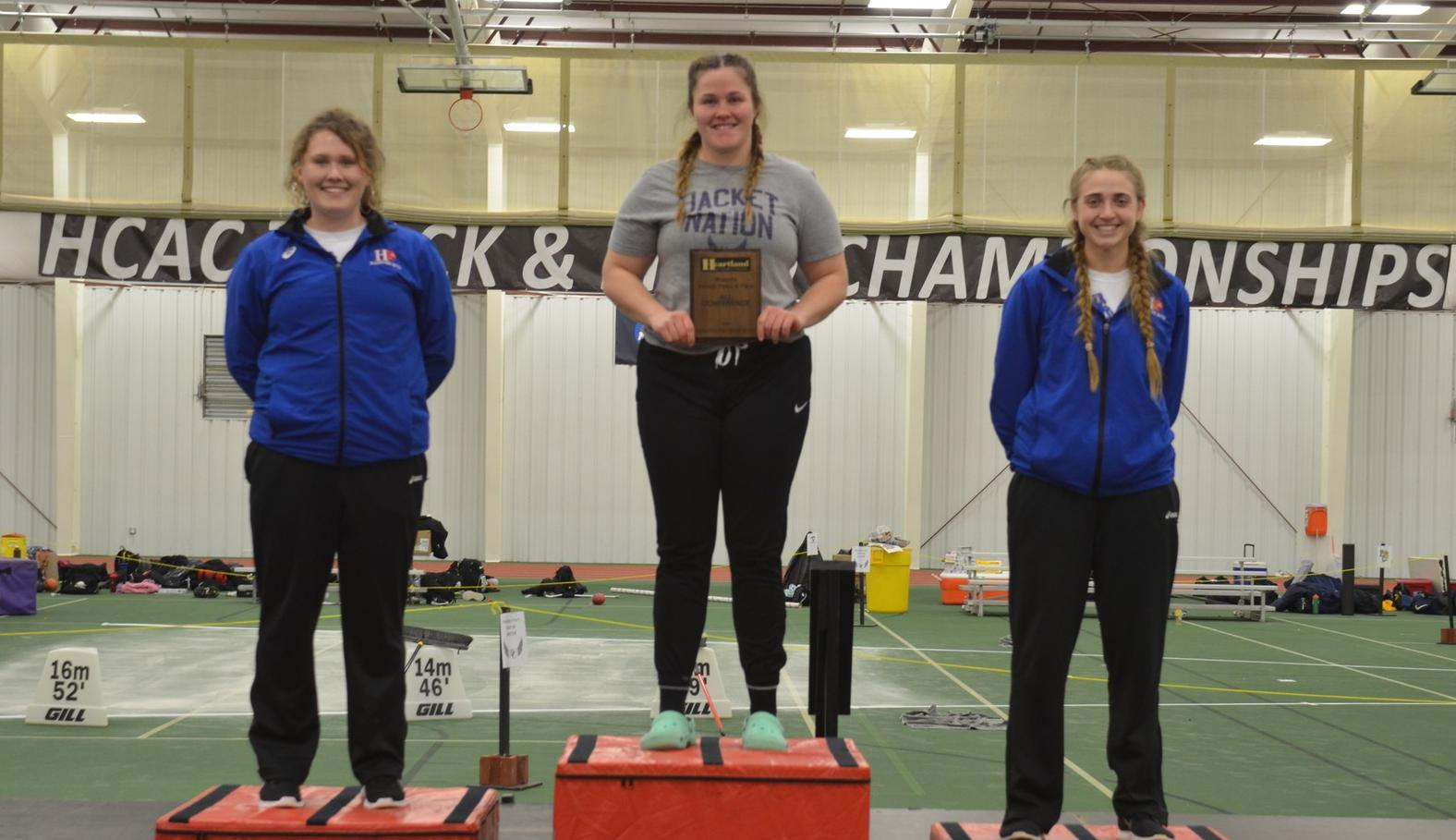 Bowman Leads Yellow Jackets at the HCAC Championships