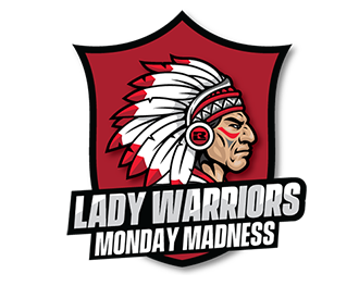 Lady Warriors Monday Madness Basketball League graphic