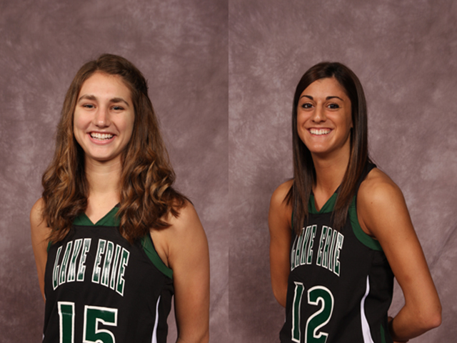 Storm seniors Stephanie Rogers and Jen Caiola have been selected to compete in the inaugural Ohio Women's College All-Star Game on April 14 in Columbus.