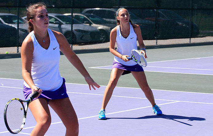 Women's Tennis Downed by Daemen, 6-3, in Home Opener