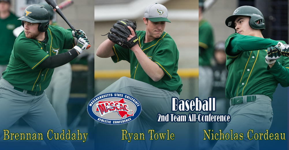 Falcons Name Three To MASCAC Baseball All-Conference Teams