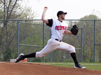 Dominant pitching carries CUA to doubleheader sweep of Eagles