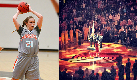 #8 Women's Basketball's Cassie Beucherie to be Featured on KGW-Channel 8 6 p.m. News