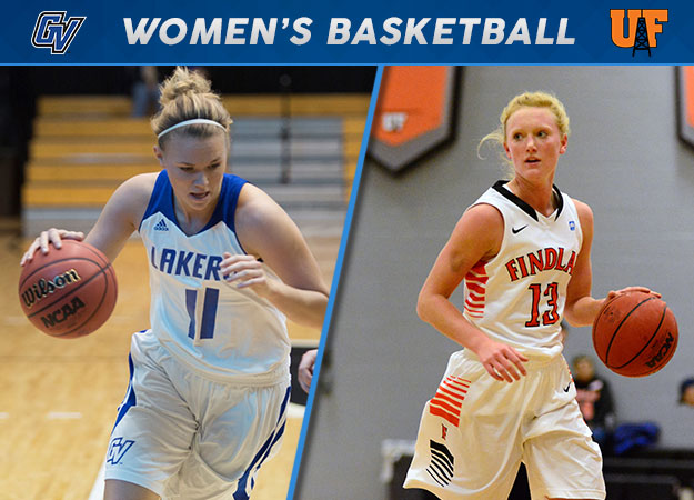#GLIACWBB Saturday: GVSU Survives OT Battle, Two Teams Hit Century Mark, Findlay Notches First GLIAC Win