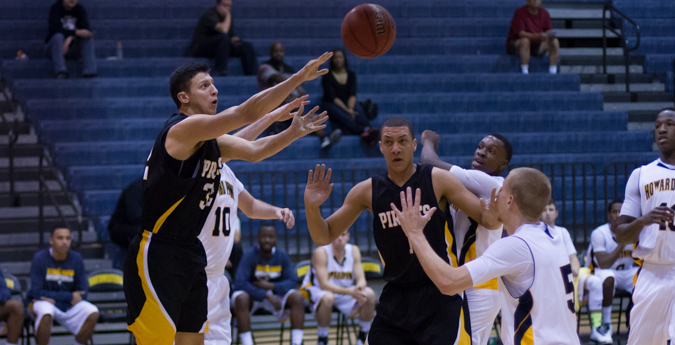 Second Half Surge Lifts Pirates Past Crusaders