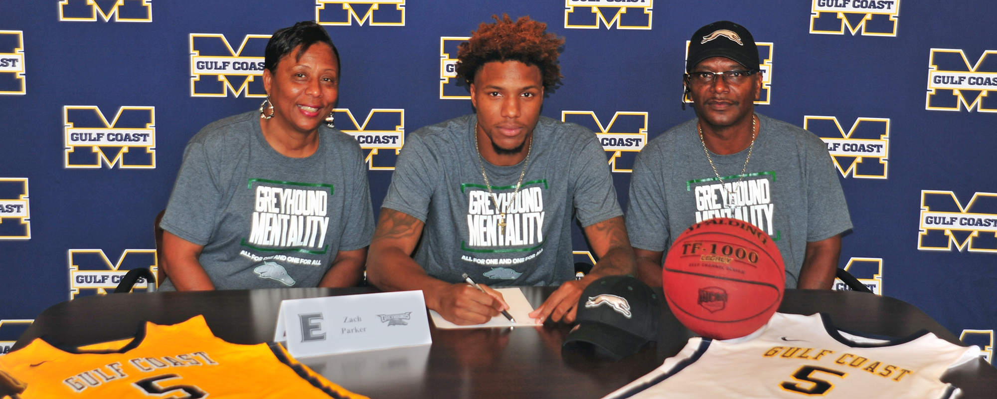 Parker signs with ENMU