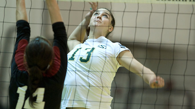 VOLLEYBALL PICKS UP FIVE-SET ROAD WIN AT WEBER STATE