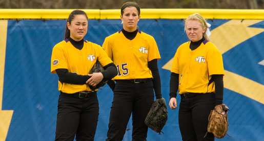 Golden Eagle softball to play in Purple and Gold Challenge