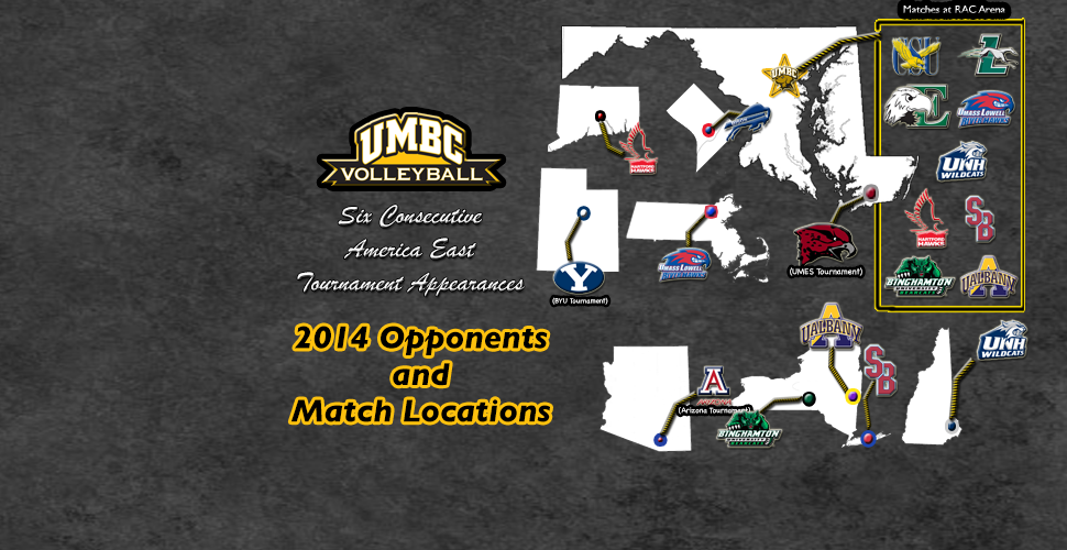 UMBC Volleyball Reveals Ambitious 2014 Schedule
