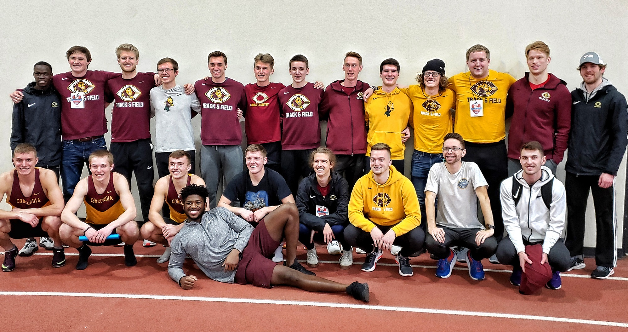 The Cobber men's track and field team posted its highest finish at the MIAC Indoor Meet since the 2000 season.