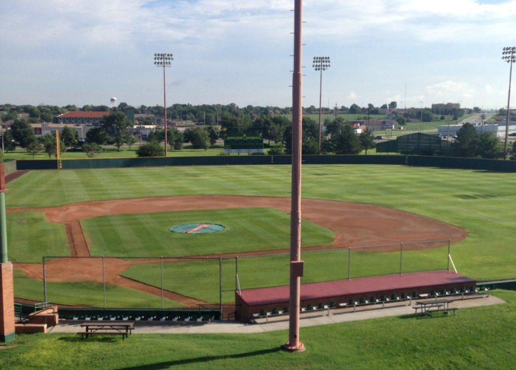 WILLIAMS STADIUM HOME OF BUSTER BASEBALL (LOOKING NORTH)