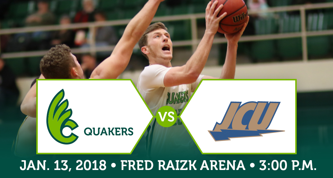 Men's Basketball Hosting No. 23 John Carroll on Saturday