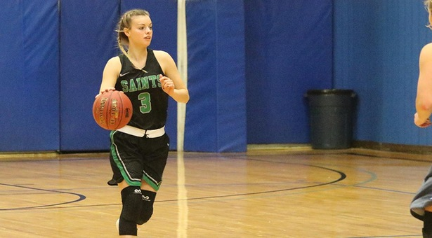 No. 15 Lady Saints win in record-breaking fashion
