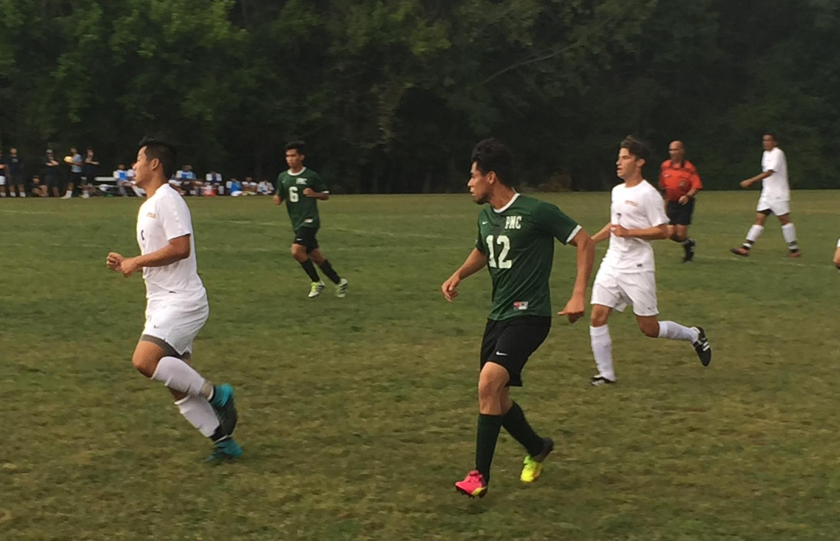 Pine Manor Stifled by Hot Goalie and Lose 3-0 at Rivier