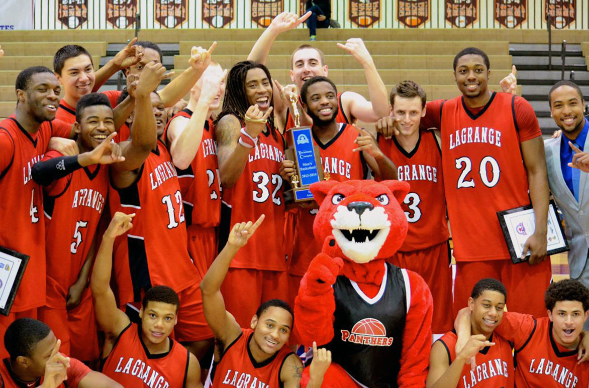 Men's Basketball: CHAMPIONS! Panthers roar past Huntingdon to claim USA South tournament title