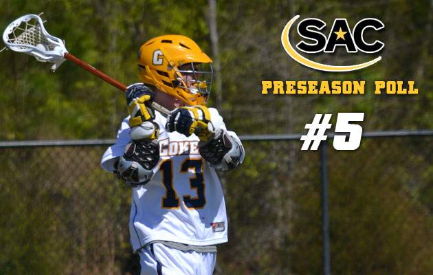 Men's Lacrosse Fifth in Preseason Ranking