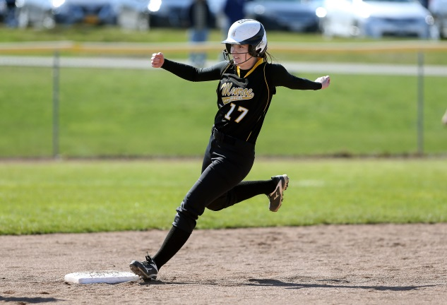 Gillen's big day helps Monroe sweep Cayuga