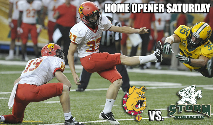 Ferris State Football Kicks Off GLIAC Play At Home This Saturday Night