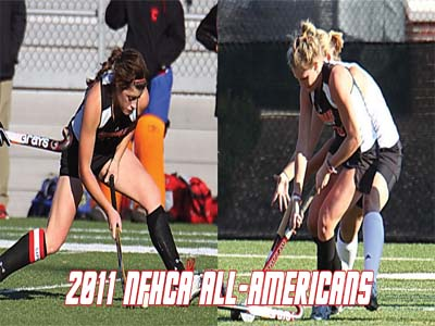 Scanlon and Swarthout named All-Americans by NFHCA